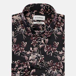 2/$25 Men's Stretch Cotton Sateen Shirt XXL